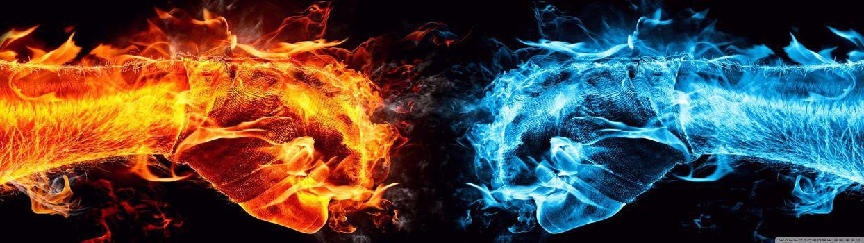 Фото бесплатно Блю, синий, двойной