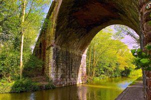 Заставки мост, артка, канал