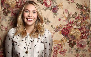 Заставки Elizabeth Olsen, блондинка, улыбка