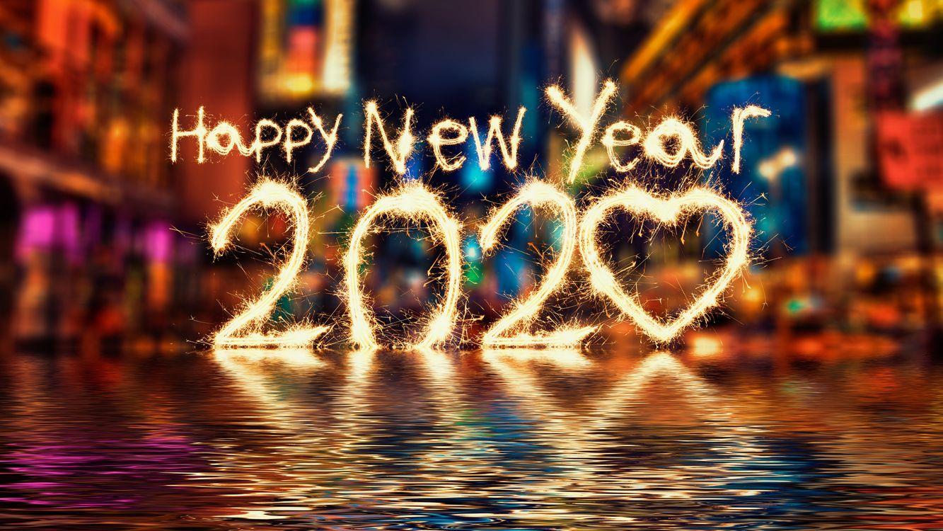 Фото бесплатно 2020, поздравительный фон, с новым годом - на рабочий стол
