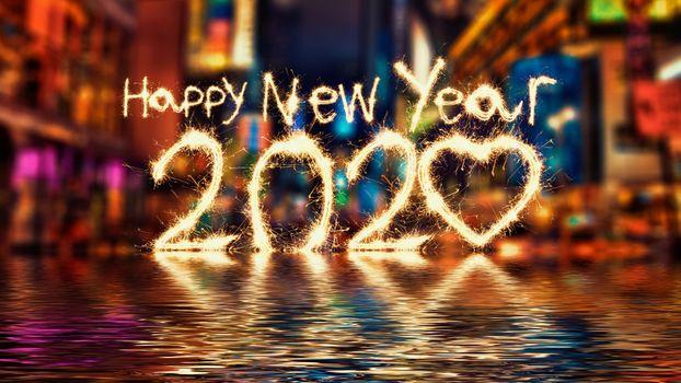 Photo free 2020, birthday background, happy new year
