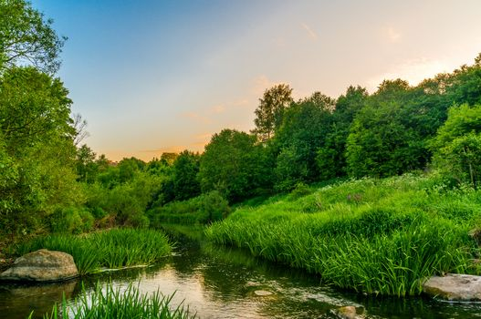 Фото бесплатно Река Акмена, Кретинга, Литва