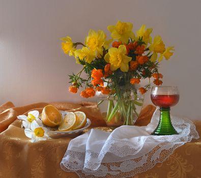 Photo free bunch, background, vase