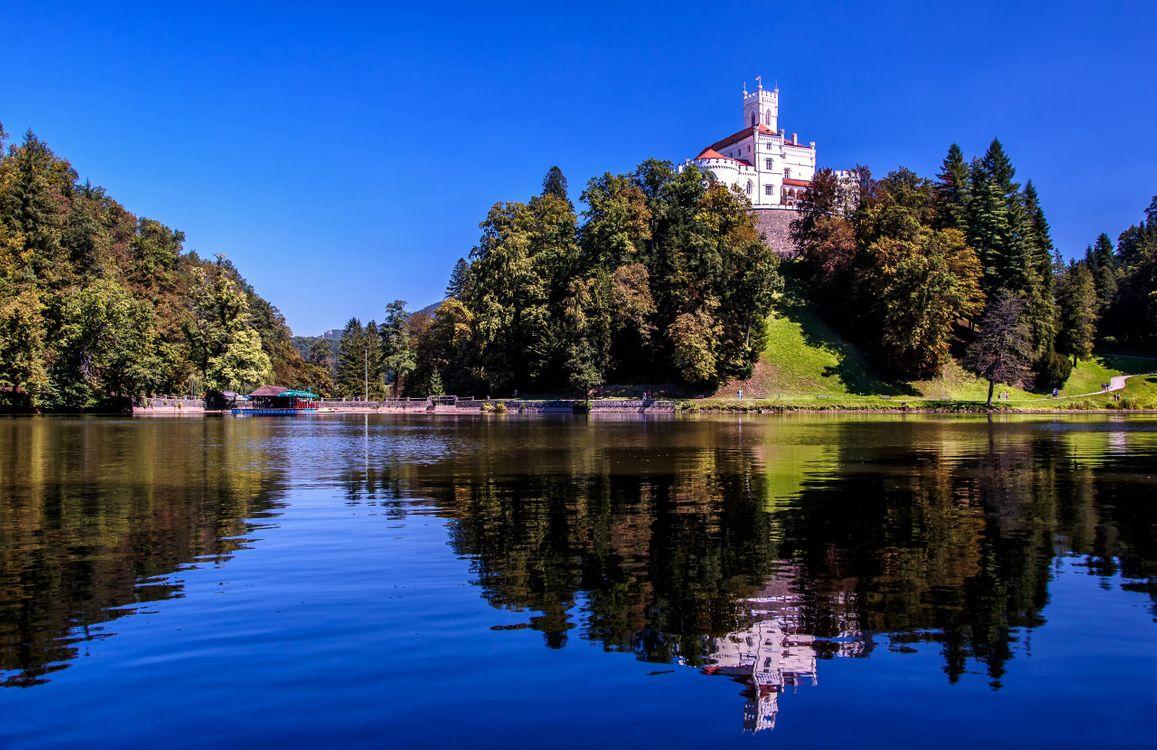 Фото бесплатно Trakoscan Castle, Croatia, Замок Тракоскан - на рабочий стол