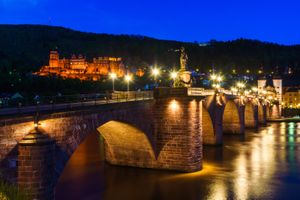 Bridge in Heidelberg · free photo