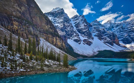 Фото бесплатно Канада, Скалистые горы, Альберта