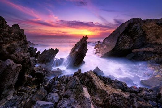 Photo free Sintra-Cascais Natural Park, Portugal, sea