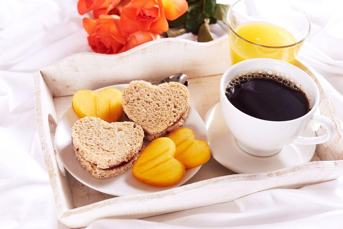 Скачать заставку завтрак, кофе на телефон бесплатно