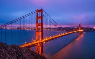 Мост в California · бесплатное фото