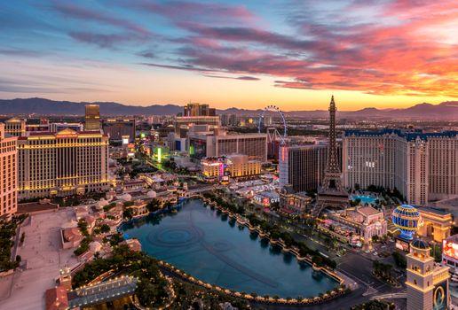 Бесплатные фото Лас-Вегас,Las Vegas,штат Невада,США,закат