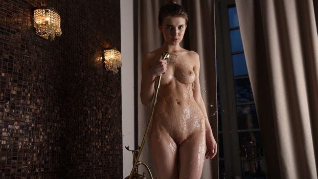 Бесплатные фото Caramel,eroticbeauty,милый,shwer и bading