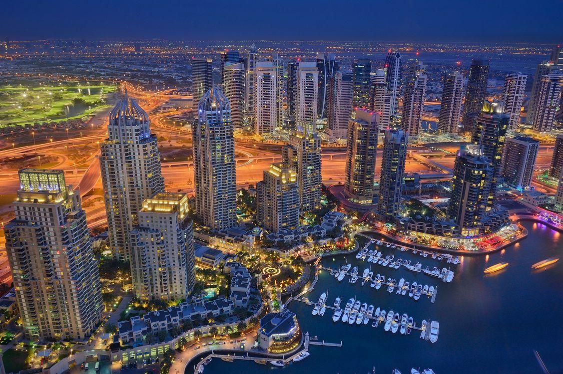 Фото бесплатно United Arab Emirates, ночь, здание - на рабочий стол