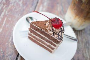 Бесплатные фото пирожное, шоколадное, десерт, крем, тарелка