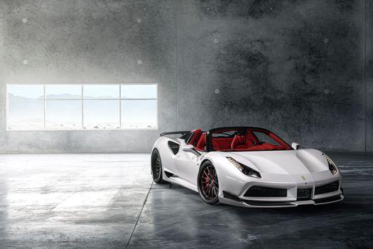 Фото бесплатно Ferrari 488, Ferrari, Cars