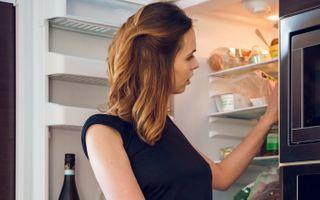 Бесплатные фото nasita,alex lynn,брюнетка,кухня,не голая,холодильник,hilary c