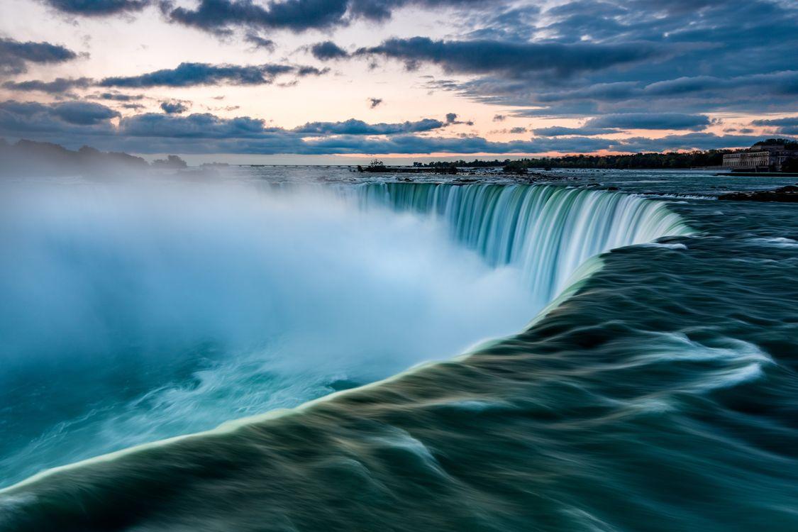 Обои ниагара, воды, водопад, природа, водные ресурсы, водное пространство, характеристики воды, небо, водоток, атмосфера, волна, река, океан, утро, спокойствие на телефон | картинки пейзажи