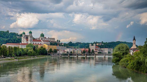 Фото бесплатно Пассау, город, река