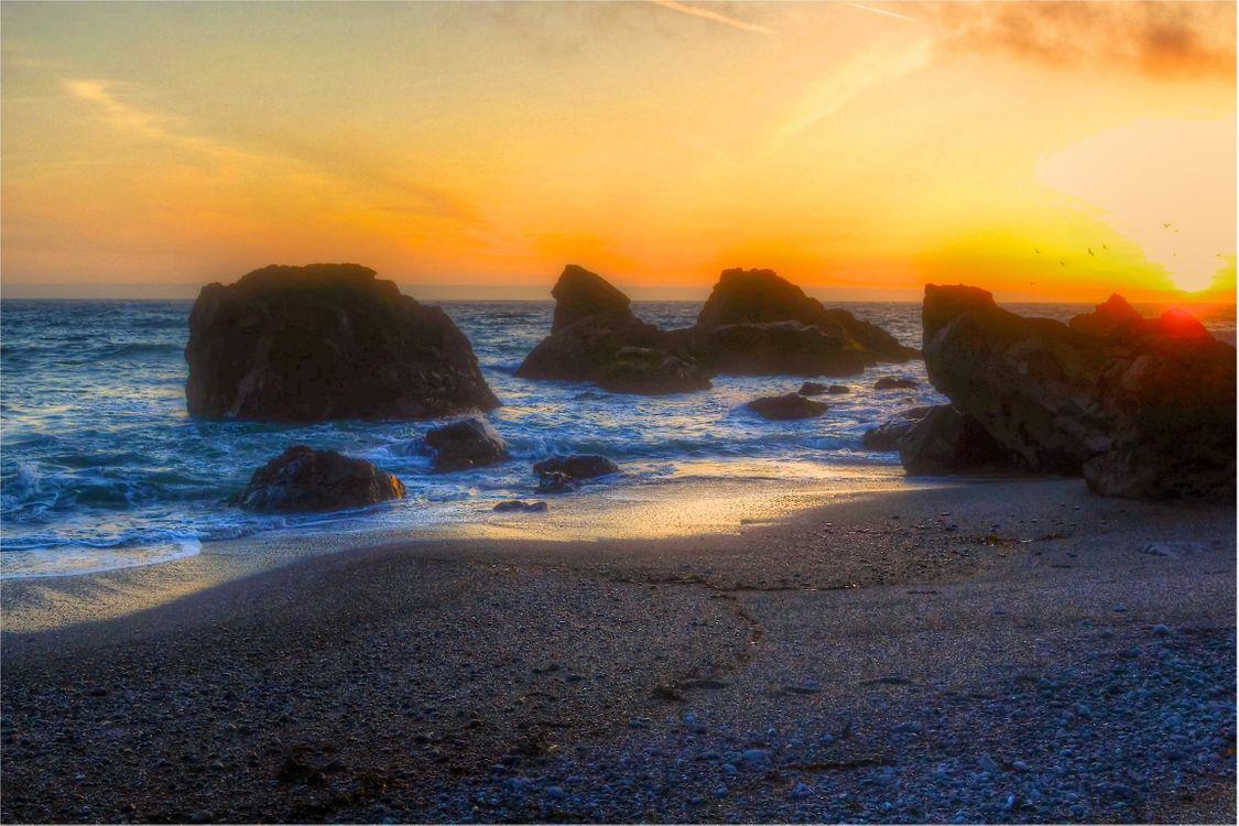 Морской пейзаж · бесплатное фото