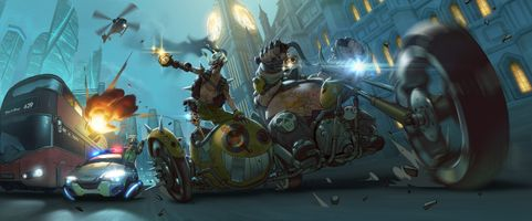 Photo free Junkrat Overwatch, Overwatch, Roadhog Overwatch