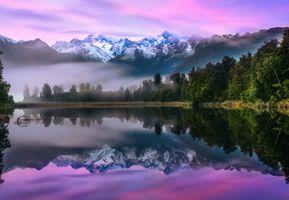 Горы в Новой Зеландии · бесплатное фото