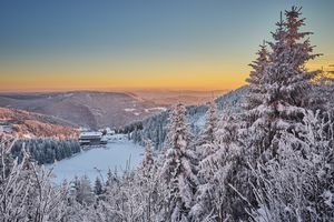 Фото бесплатно Хорнисгринде гора, Шварцвальд, Германия