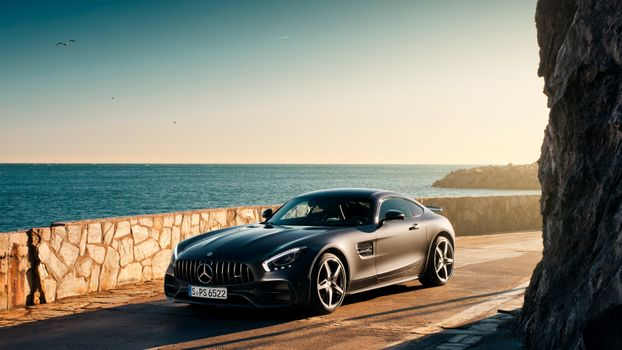 Photo free Mercedes, Mercedes Amg Gt, coupes