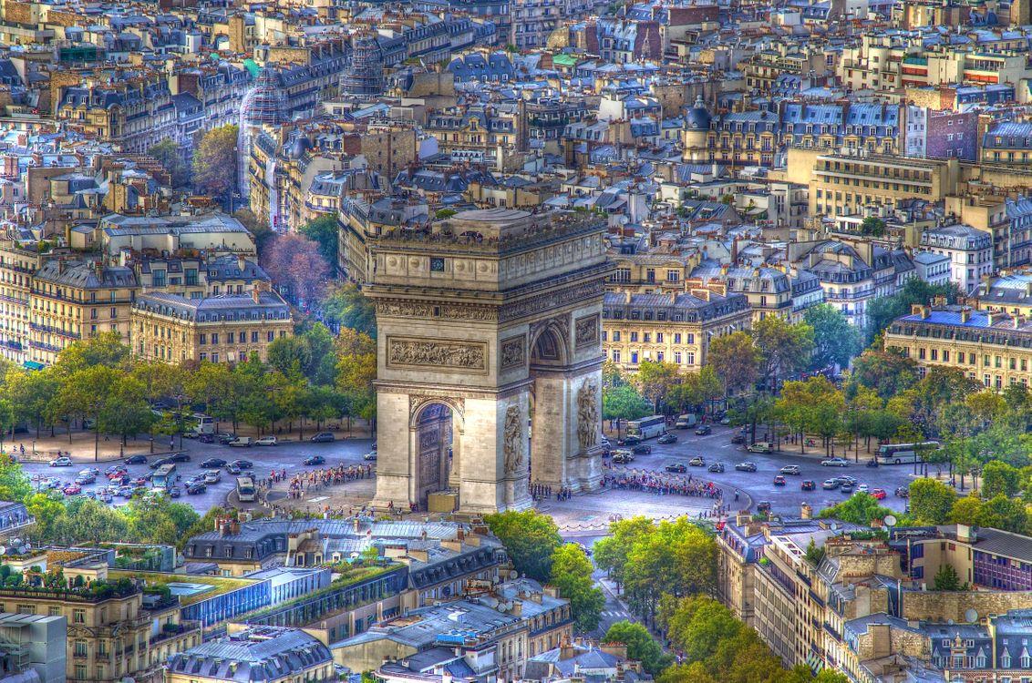 Фото бесплатно Париж, Франция, Paris - на рабочий стол