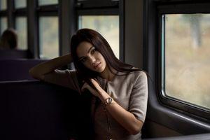 Фото бесплатно Violetta Milovanova, девушки, модель