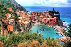 Фото бесплатно HDR, coastline, Vernazza