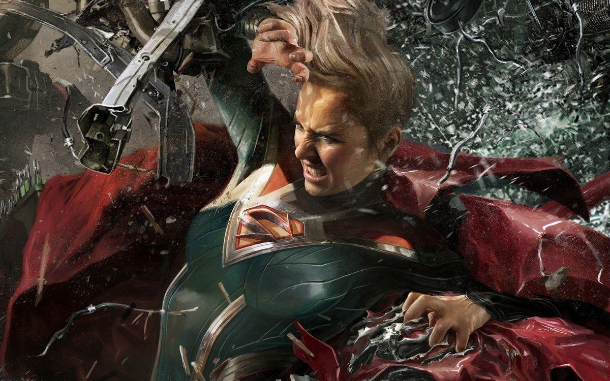 Фото бесплатно Несправедливость 2, Supergirl, Игры - на рабочий стол
