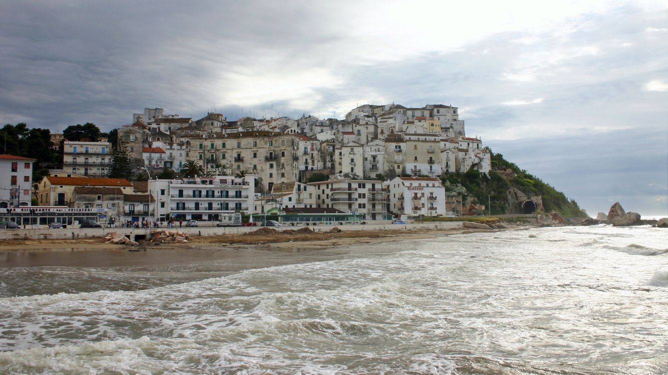 Обои Италии, роди-гарганико, пляж картинки на телефон