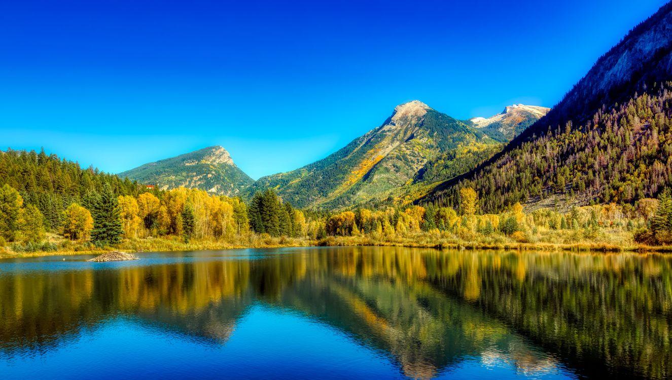 Обои колорадо, озеро, америка картинки на телефон