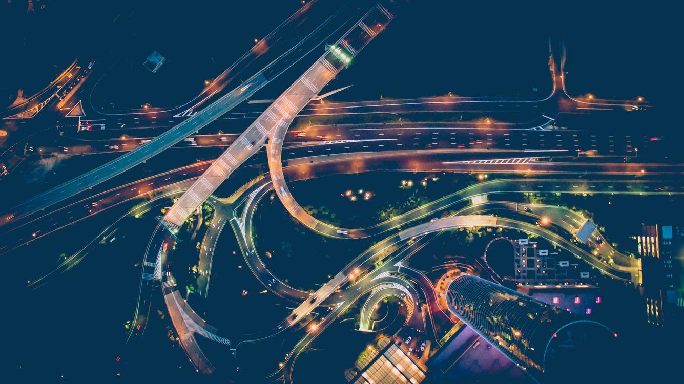 Фото ночь атмосфера городской пейзаж - бесплатные картинки на Fonwall
