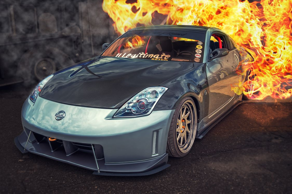Photo 2008 Nissan 350Z 350Z 6 cylinder - free pictures on Fonwall
