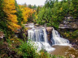 Заставки водопад, десять, природа