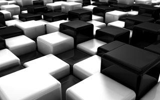 Фото бесплатно цифровая, кубики, искусство