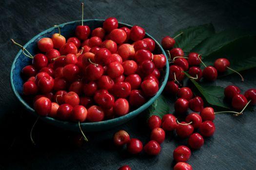 Фото бесплатно фрукты, спелые ягоды, черешня