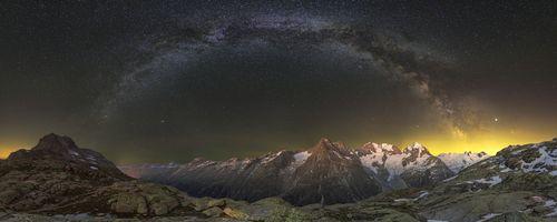 Фото бесплатно огни, панорама, пейзаж