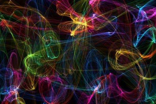 Фото бесплатно текстура, разноцветные огни, свечение