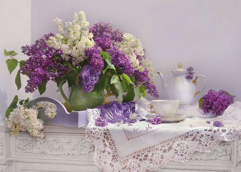 Photo free bouquet, flowers, lilac