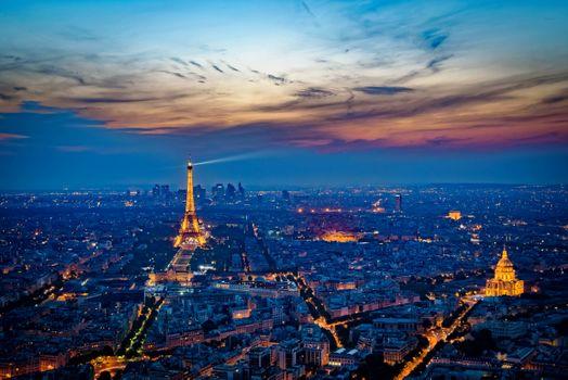 Фото бесплатно дома, Париж, освещение