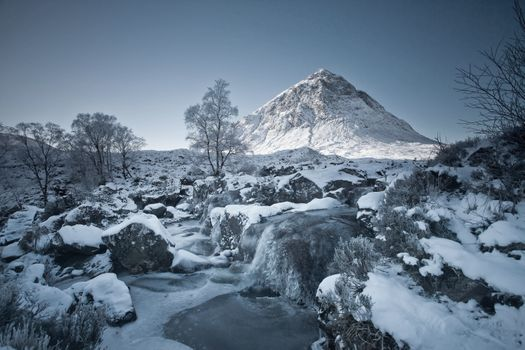 Photo free frosen, winter, waterfall