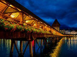 Photo free lights, Lucerne, illumination