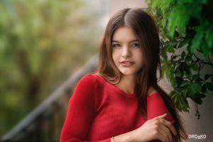 Шатенка Юлия и ее фотосет