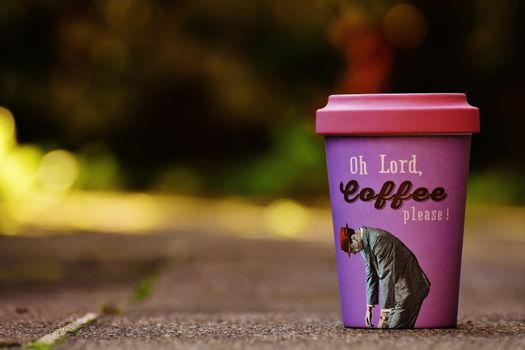 Фото бесплатно чашка кофе, пластиковая, о боже кофе