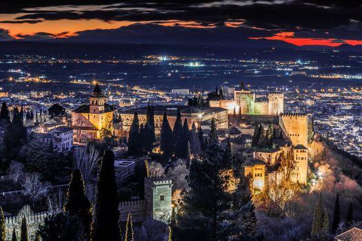 Бесплатные фото Alhambra,Гранада,Испания