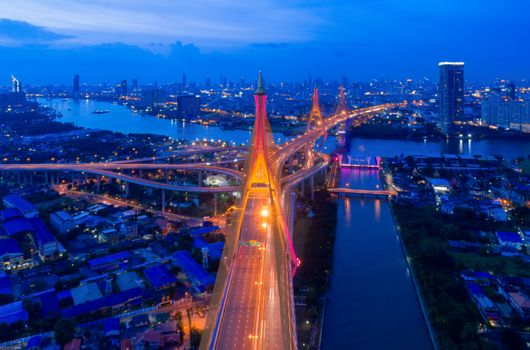 Заставки Бангкок, ночной город, Таиланд