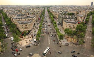 Улицы в центре Парижа