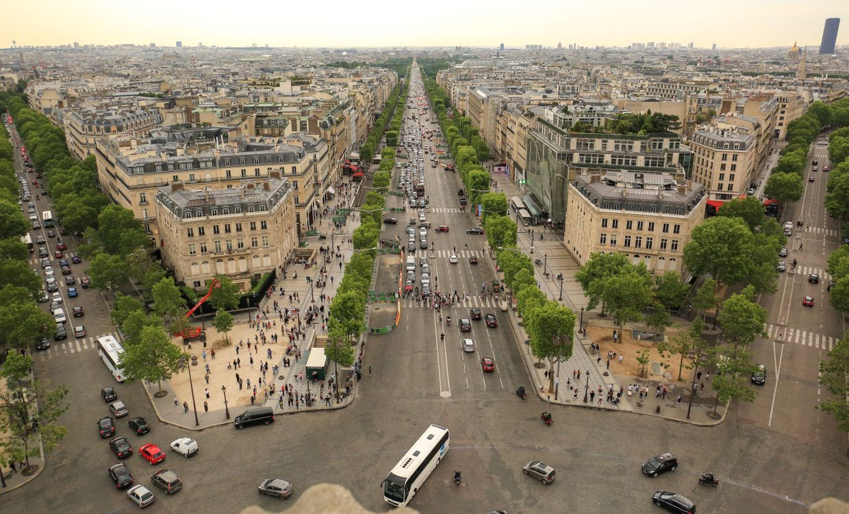 Улицы в центре Парижа · бесплатное фото