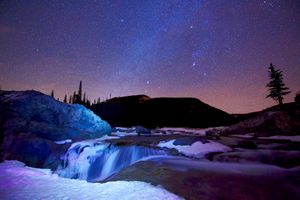 Фото бесплатно Альберта, Elbow Falls, Kananaskis